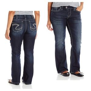 Silver Jeans 20x30 Tuesday Low Rise Bootcut Jean